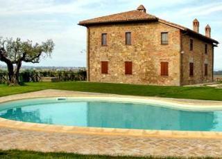 Vakantiehuis met zwembad in Umbrië in Paciano (Italië)