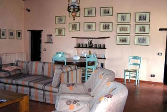 Vakantiehuis in Paciano, Umbrië - Woonkamer