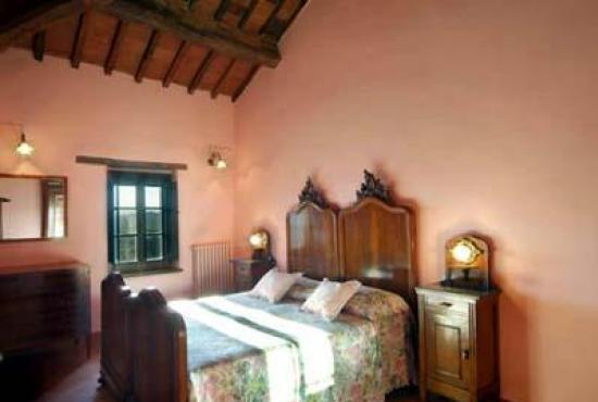 Vakantiehuis in Paciano, Umbrië - Slaapkamer