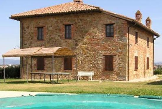 Vakantiehuis in Paciano, Umbrië - Vakantiehuis en zwembad