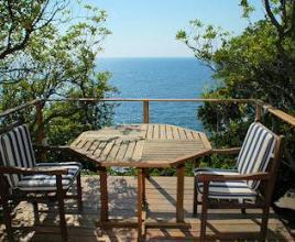 Vakantiehuis in Castiglioncello aan zee, in Toscane.