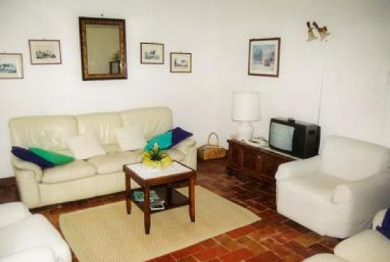Holiday house in San Quirico d'Orcia, Tuscany - Livingroom