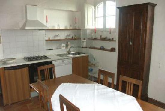 Holiday house in San Quirico d'Orcia, Tuscany - Kitchen area