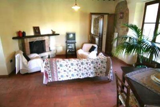 Holiday house in Celle sul Rigo, Tuscany - Livingroom