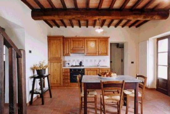 Holiday house in Celle sul Rigo, Tuscany - Kitchen