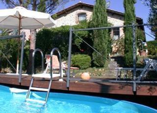 Vakantiehuis in Sovicille met zwembad, in Toscane.