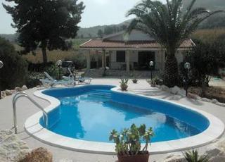 Vakantiehuis met zwembad in Sicilië in Scopello (Italië)