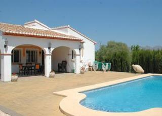 Holiday house in Orba with pool, in Costa Blanca.