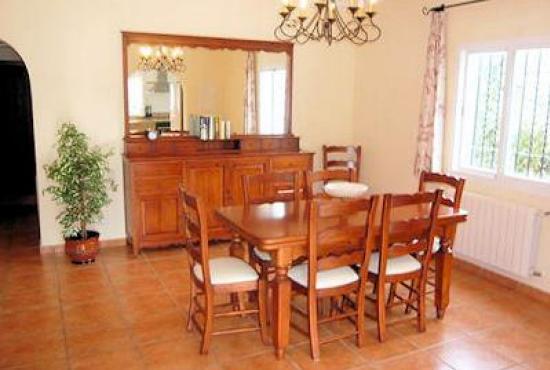 Vakantiehuis in Orba, Costa Blanca - Eethoek