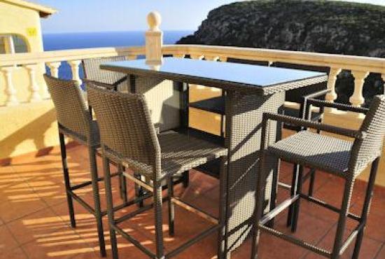 Vakantiehuis in Benitachell, Costa Blanca - Terras