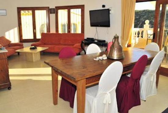 Vakantiehuis in Benitachell, Costa Blanca - Woonkamer