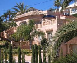 Villa met zwembad in Costa Blanca in Calpe (Spanje)