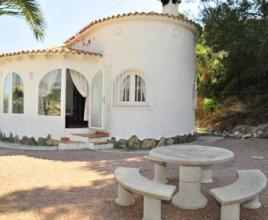 Villa met zwembad in Costa Blanca in Moraira (Spanje)