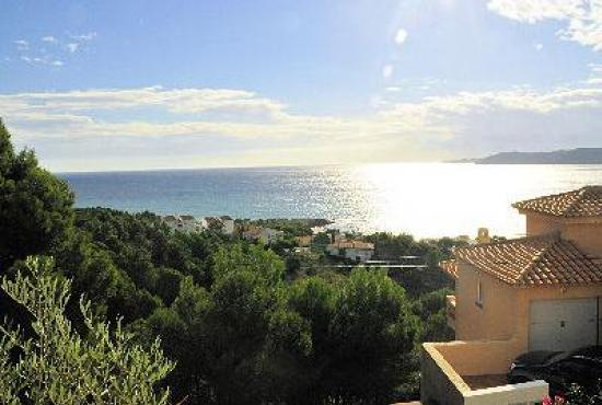 Holiday house in Llançà, Costa Brava - View from the terrace