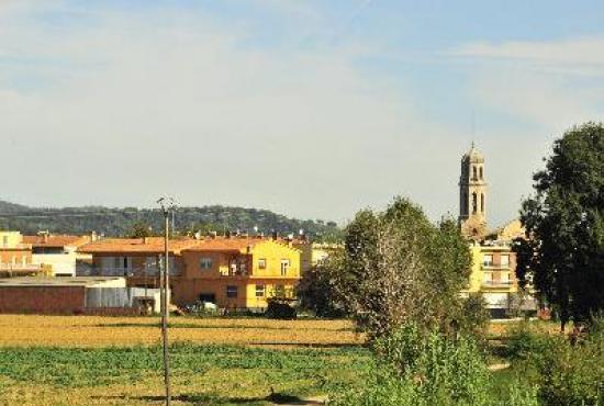 Ferienhaus in  Vilobi d'Onyar, Costa Brava - Aussicht auf Vilobà d'Onyar
