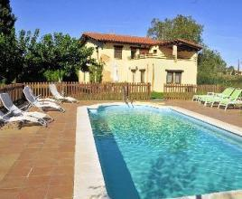Holiday house in Vilobi d'Onyar with pool, in Costa Brava.