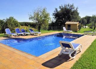 Vakantiehuis met zwembad in Costa Brava in Riudarenes (Spanje)