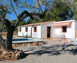 Holiday house in El Perelló with pool, in Costa Dorada.
