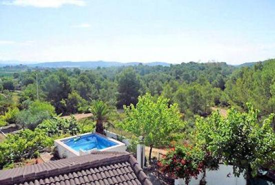 Vakantiehuis in Pedralba, Costa Azahar - Huis en omgeving