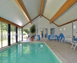 Holiday house in Barvaux with pool, in Ardennes.