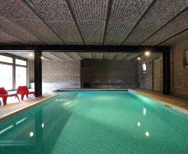 Holiday house in Hamoir with pool, in Ardennes.