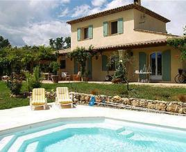 Holiday house in Saint-Cézaire-sur-Siagne with pool, in Provence-Côte d'Azur.
