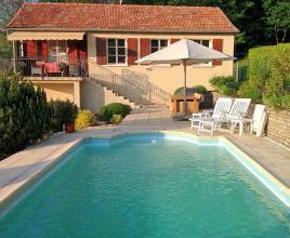 Holiday house in Darbres with pool, in Provence-Côte d'Azur.