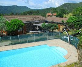 Holiday house in Malbosc/Fabre with pool, in Provence-Côte d'Azur.