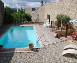 Vakantiehuis in Carcassonne met zwembad, in Languedoc-Roussillon.
