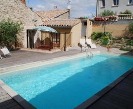 Ferienhaus in Carcassonne mit Pool, in Languedoc-Roussillon.