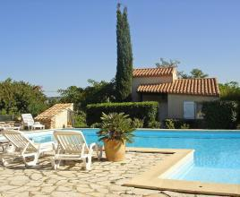 Holiday house in Ferrals-les-Corbières with pool, in Languedoc-Roussillon.