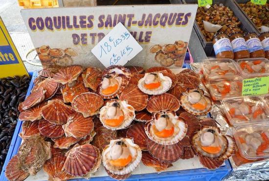 Location de vacances en Saint-André-d'Hébertot, Normandie - Fruits de mer