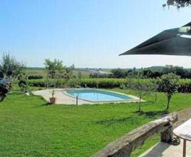 Holiday house in Léoville with pool, in Poitou-Charentes.