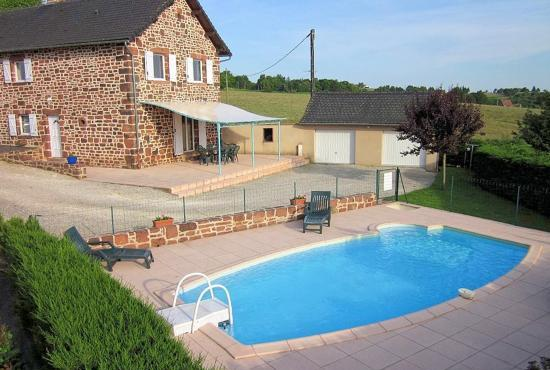 Holiday house in Lagleygeolle, Dordogne-Limousin -