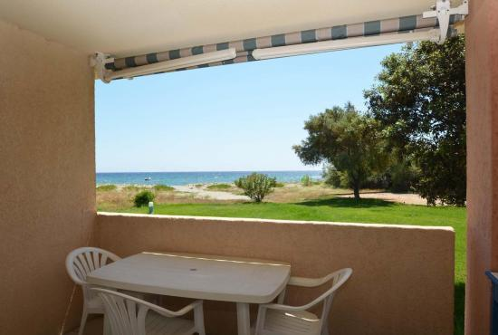Holiday house in Moriani-Plage, Corse - View to the sea