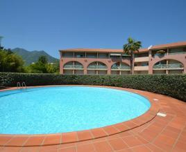 Vakantiehuis in Moriani-Plage met zwembad, in Corsica.