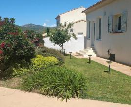 Location de vacances avec piscine à Oletta, Corse