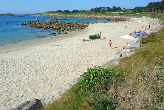 Holiday house in Pleumeur-Bodou, Brittany - Beach near Landrellec