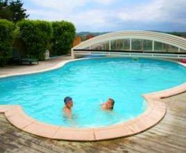 Holiday house in Naillat with pool, in Dordogne-Limousin.