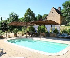 Ferienhaus in Les Eyzies mit Pool, in Dordogne-Limousin.
