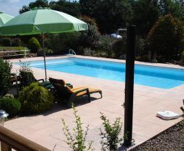 Holiday house in Marsaneix with pool, in Dordogne-Limousin.