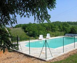 Holiday house in Campagnac-les-Quercy with pool, in Dordogne-Limousin.