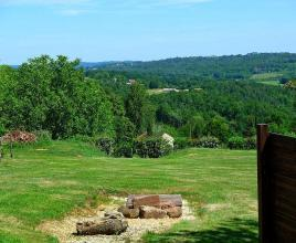 Holiday house in Saint-Laurent-la-Vallée with pool, in Dordogne-Limousin.