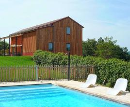 Holiday house in Florimont-Gaumier with pool, in Dordogne-Limousin.