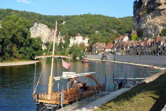 Vakantiehuis in Florimont-Gaumier, Dordogne-Limousin - La Roque-Gageac