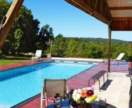 Casa vacanze con piscina in Florimont-Gaumier, in Dordogne-Limousin.