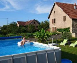 Holiday house in Mondon with pool, in Franche-Comté.