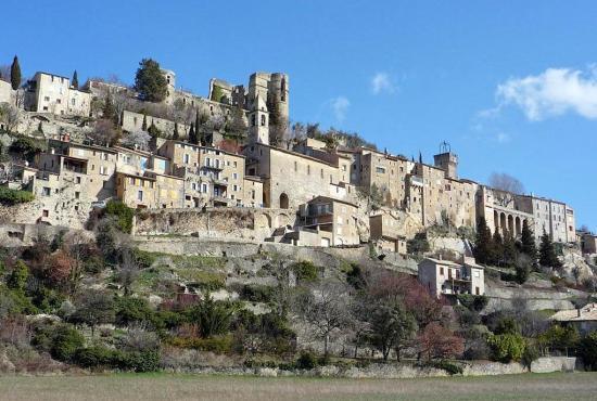 Ferienhaus in  Le Poet-en-Percip, Provence-Côte d'Azur - Montbrun-les-Bains
