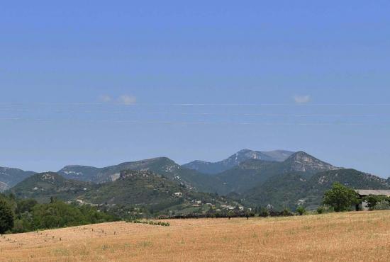Vakantiehuis in Chaudebonne, Provence-Côte d'Azur - Landschap bij Condorcet