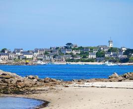 Vakantiehuis in Roscoff aan zee, in Bretagne.